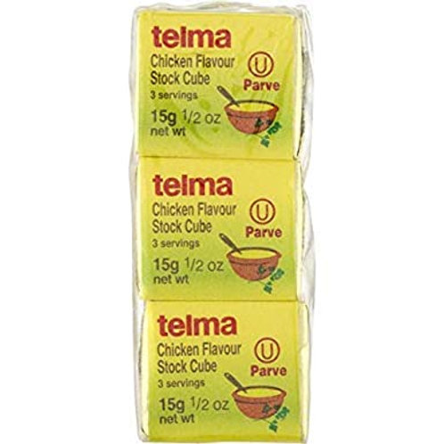 Telma Chicken Flavored Consomme Cubes 3pk