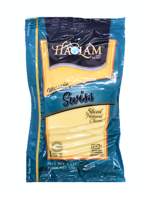 Haolam Swiss Cheese Sliced 6oz