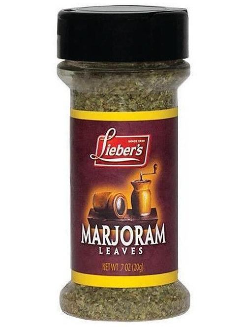 Lieber's Marjoram Leaves .7 oz.