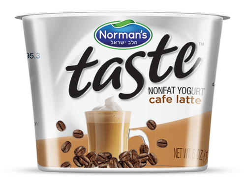 "Norman's ""Taste"" Café Latte Yogurt 5 Oz."