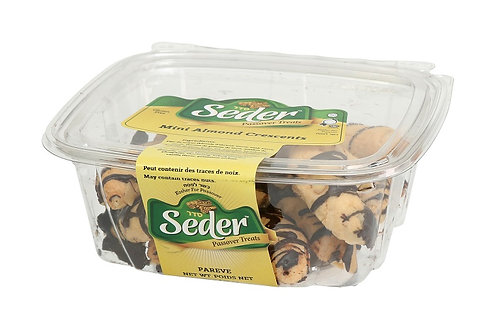 Seder Mini Almond Horns 8 oz.