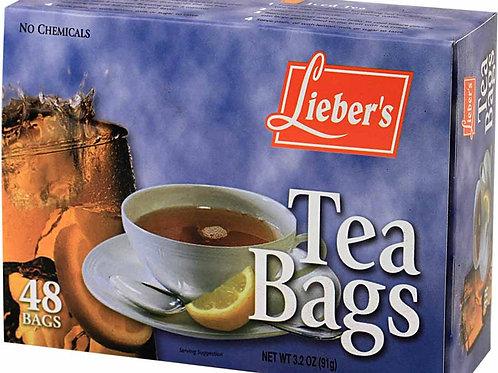 Lieber's Tea Bags 48 ct