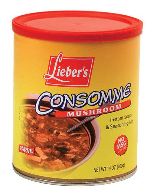 Lieber's Mushroom Soup Mix(No Msg) 14 oz.