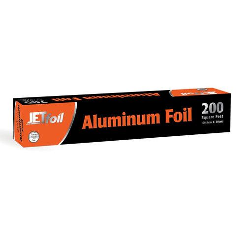 Jetfoil Alluminum Foil 200sq.ft.