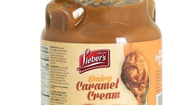 Lieber's Caramel Cream Dairy 10.6 oz.
