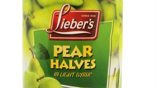 Lieber's Pear Halves 29 oz.