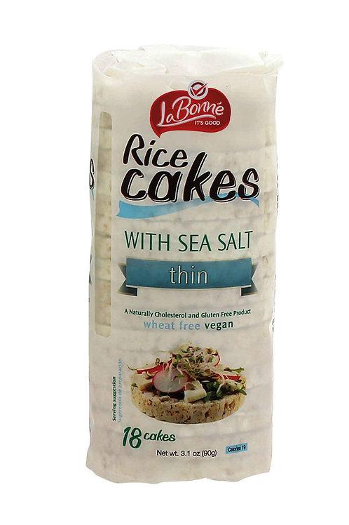 LaBonne Thin Rice Cakes (Salted) 3.1 oz