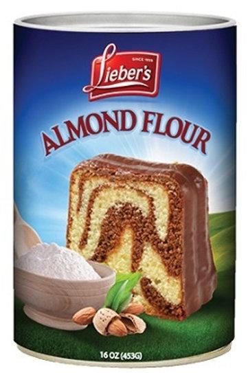 Lieber's White Almond Flour ( Can) 14 oz.