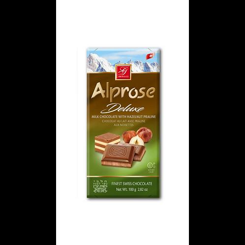 Alprose Deluxe Milk Hazelnut 3.5 OZ