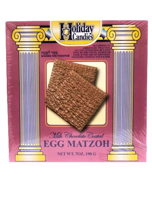 Holiday Milk Chocolate Egg Matzos Dairy 7 Oz