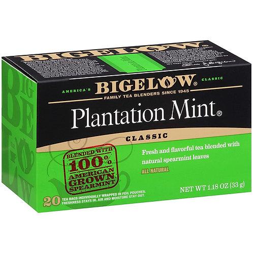 Bigelow Plantation Mint Tea 20 Ct