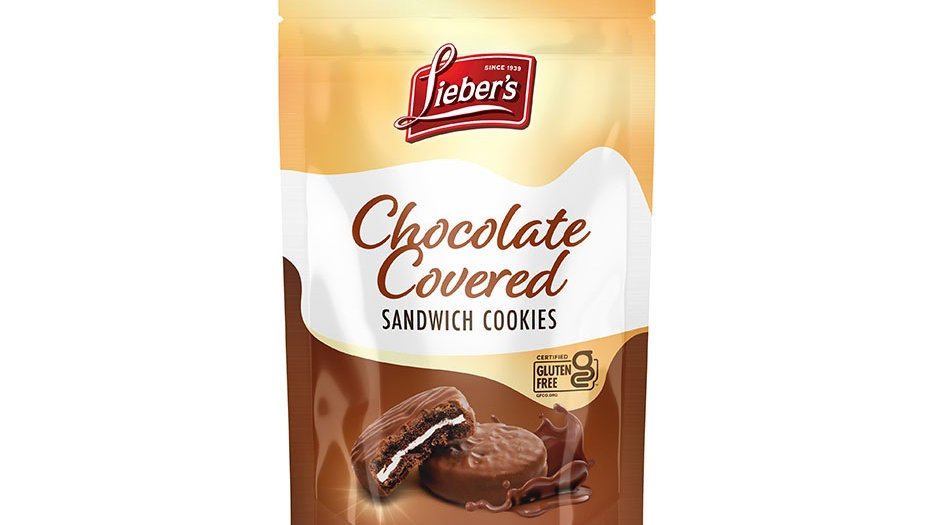 Lieber's Chocolate Covered Sandwich Cookies 4.5 oz