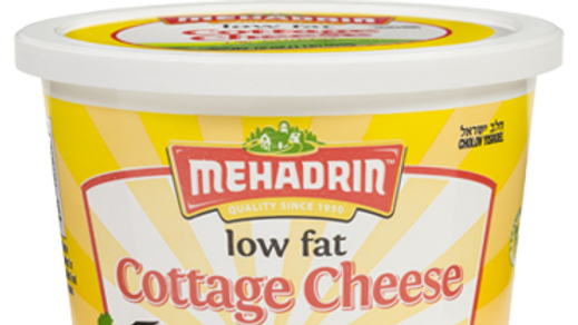 Mehadrin  Lowfat Cottage Cheese  16oz
