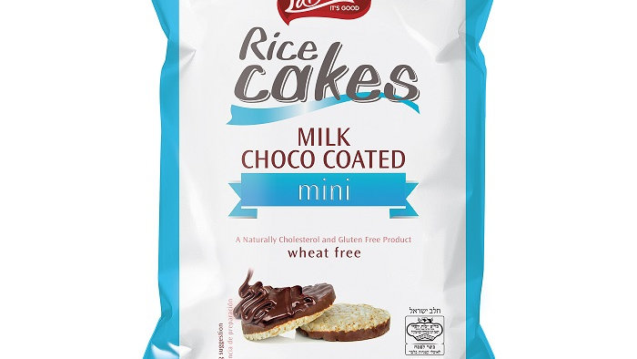 Lieber's Bite Size Milk Chocolate Covered Rice Cakes 2.82 oz.