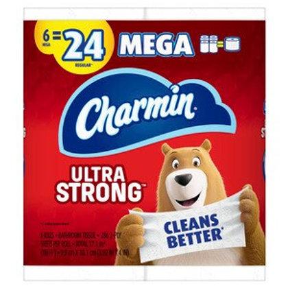 Charmin Mega Ultra Strong 6pk