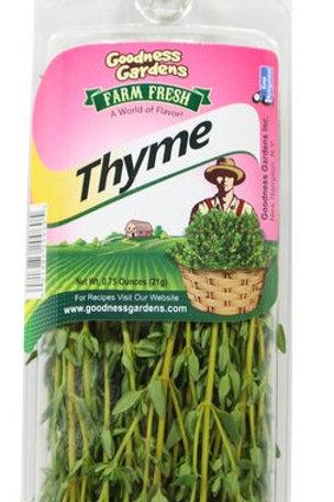 Goodness Gardens Thyme 1oz