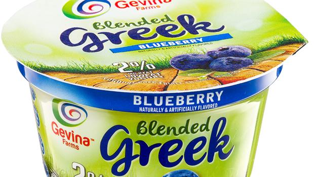Gevina  Blueberry  Greek Yogurt 2% Blended 5.3oz