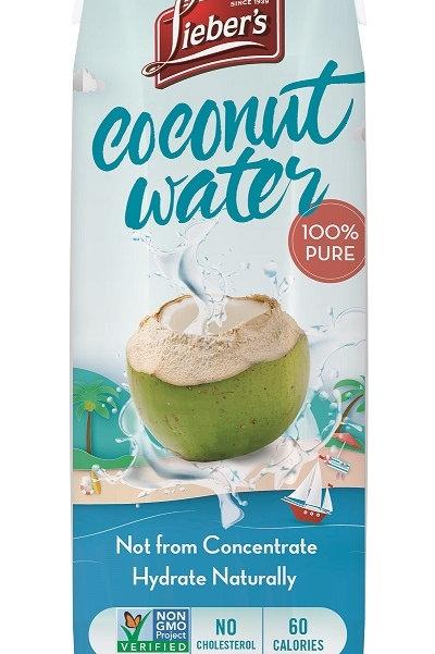 Lieber's Coconut Water 33.8 oz