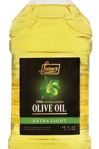 Lieber's Extra Light Olive Oil 68 oz.