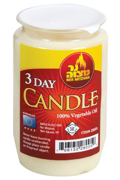Candle 3 days