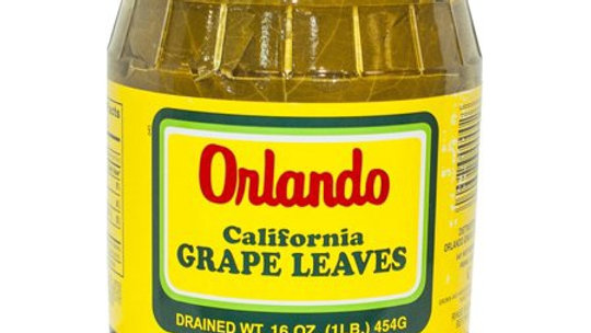 Orlando Vine Leaves Jar 16 oz