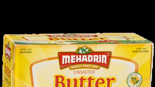 Mehadrin  Stick Butter Unsalted ¼'s  16oz