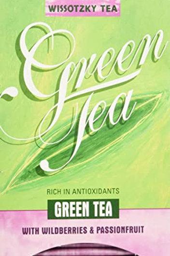 Wissotzky Green Tea W/ Wildberry & Passionfruit