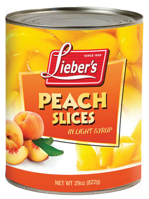 Lieber's Peaches (Slices) 29 oz.