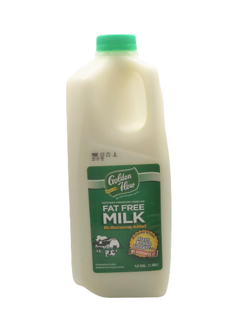 Golden Flow Fat Free Milk H.G.