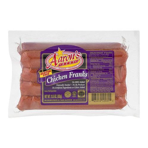 Aaron's Chicken Franks 13.5oz