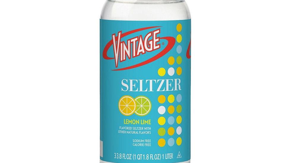 Vintage Lemon Lime Seltzer  1 L
