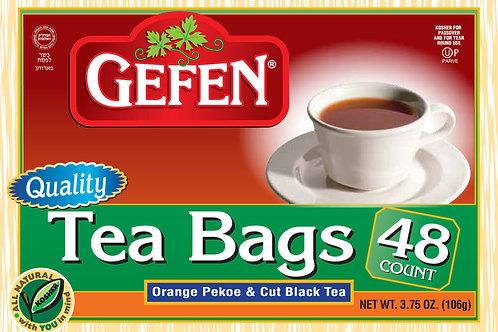 Gefen Tea Bags 48 Count