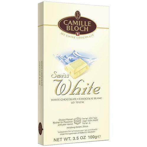 Camille Bloch Swiss White Chocolate 3.5oz