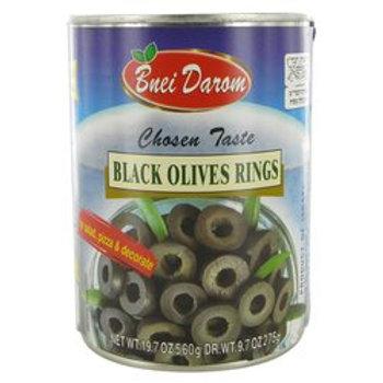 Bnei Darom Olive Rings (Black) 19.7 oz.