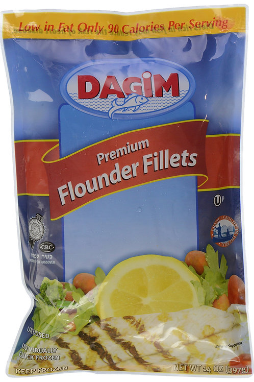 Dagim Flounder Fillets In Bag 14oz