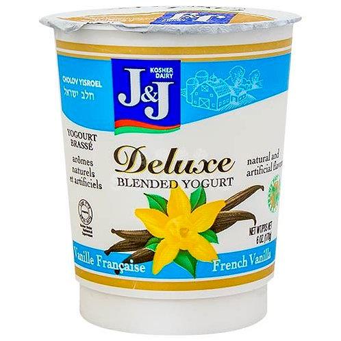 J&J  French Vanilla  Deluxe Yogurt 6oz