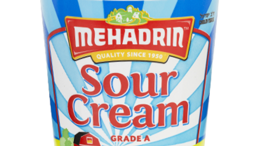 Mehadrin  Sour Cream  16oz
