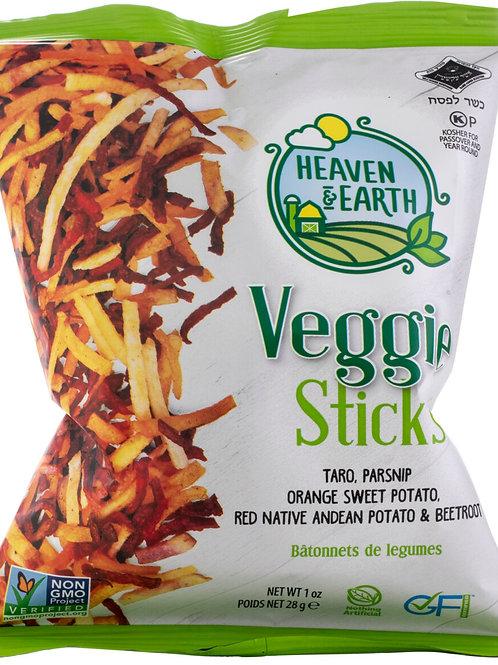 H&E Veggie Sticks Mix 1oz