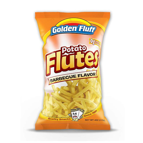 G.F. Potato Flutes BBQ 4oz