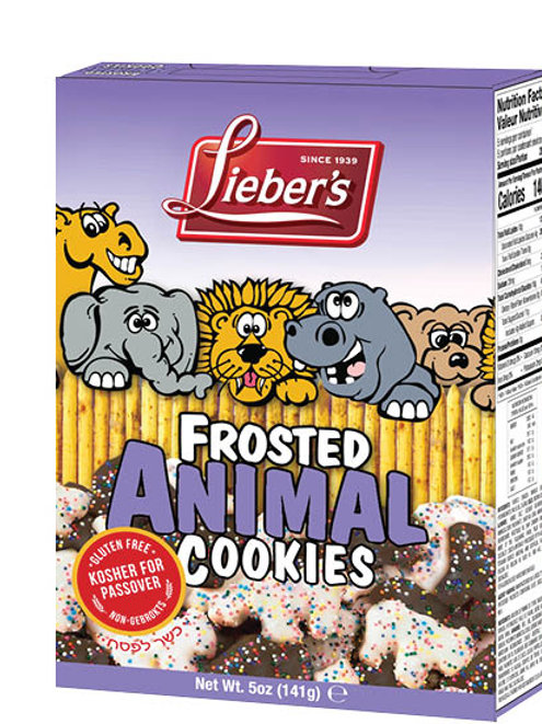 Lieber's Frosted Animal Cookies 5 oz.
