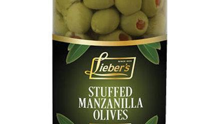 Lieber's Olives (Stuffed) 10 oz.