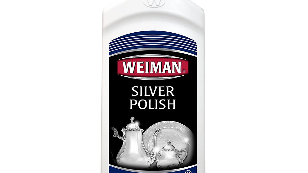 Weiman Silver Polish Bottle 8 Oz
