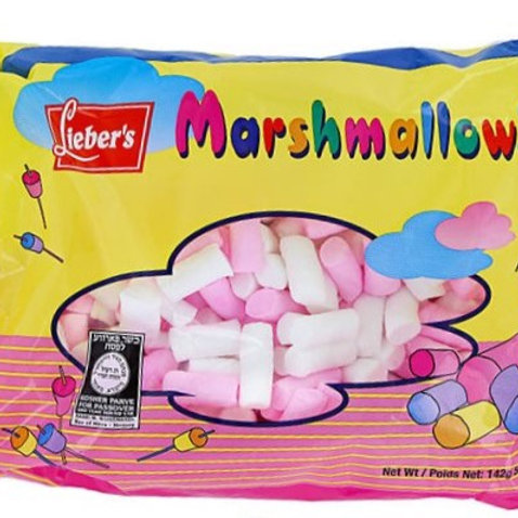Lieber's Mini Marshmallows(Pink & White) 5 oz.