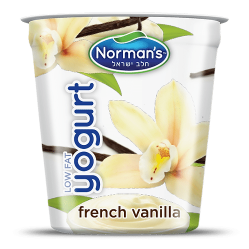 Norman's French Vanilla Low Fat 5.3 Oz.