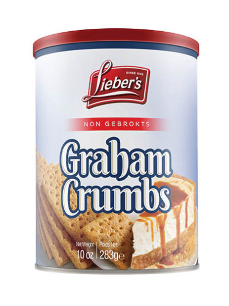 Lieber's Graham Crumbs 10 oz.