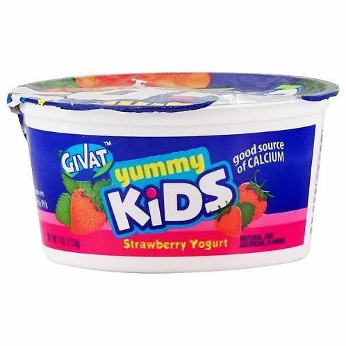 Givat  Strawberry  Yummy Kids 4 oz.