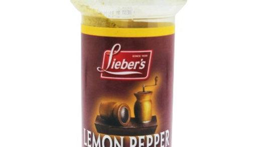 Lieber's Lemon Pepper Seasoning 4.5 oz.