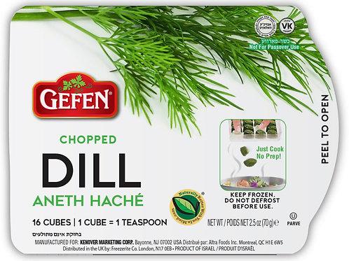 Gefen Chopped Dill Cubes 2.5oz