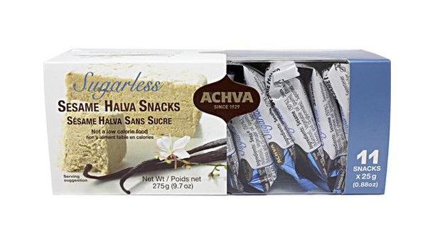 Achva Halva Snack Gift Box Sugarless 9.7 oz