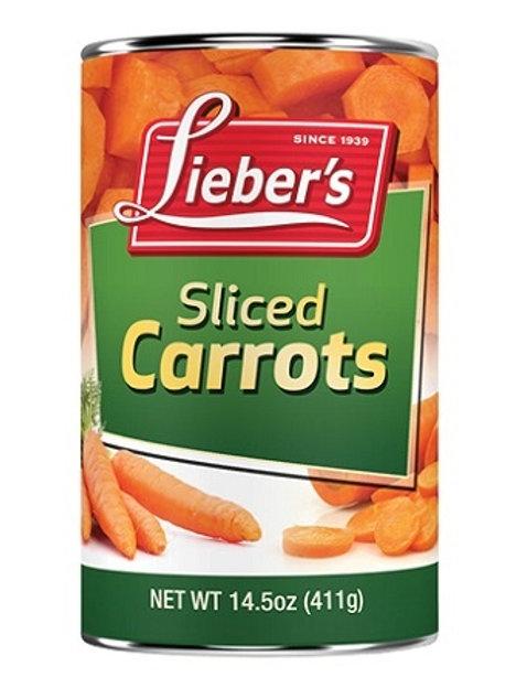 Lieber's Sliced Carrots 14.5 oz.